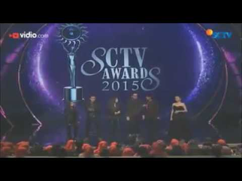 Aliando dance di SCTV AWARDS 2015