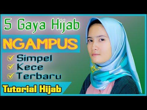 Xxx Mp4 Tutorial Hijab Segi Empat Satin Untuk Ngampus 5 Gaya Simpel MFI Hijab 3gp Sex