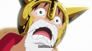 Luffy Meets His Brother Sabo Emotional (EPIC MUST WATCH) LIVE REACTION MASHUP  One Piece EP 738