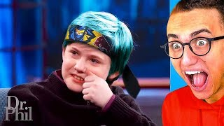 CRAZY 12 YEAR OLD ADDICTED TO PLAYING FORTNITE!