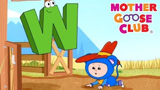 Alphabet Roundup and More | Nursery Rhymes from Mother Goose Club!