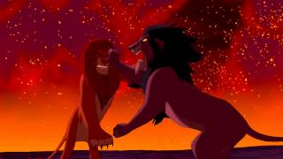 Le Roi Lion - Duel final entre Simba et Scar [HD]
