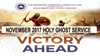 NOVEMBER 2017- RCCG HOLY GHOST SERVICE