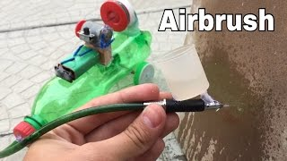How to Make a Mini Airbrush out of Pen (Mini Air Compressor)
