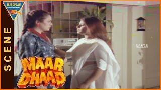 Maar Dhaad Hindi Movie ||  Huma Blames mandakini || Hemant Birje, Mandakini, Huma Khan