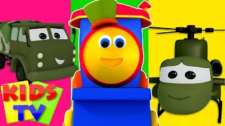 Bob The Train Visit To The Army Camp | Kids TV cartoon | kids TV video for children | kids TV show