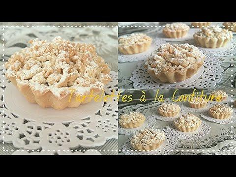 Mini tartelettes à la confiture🌸 recette facile et rapide gâteaux algérien économique Mderbel