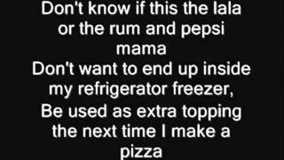 Eminem Must Be The Ganja Lyrics