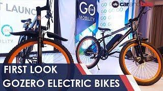 GoZero Electric Bikes First Look | NDTV Carandbike