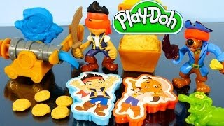 Play Doh Jake And The Neverland Pirates Full Episode Play Dough Treasure Creations Battle