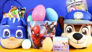 Easter Egg Surprise Toy Opening With Hatchimals Batman And Spirit Riding Free Toys