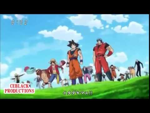 Abertura mais legal de todos os tempos 26 Toriko x One Piece x DragonBall Z