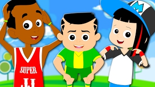 Superstar Rangers   Head Shoulders Knees And Toes   Nursery Rhymes   Childrens Song   Kids Rhymes