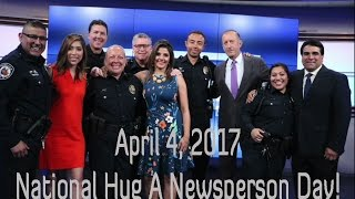 Hug A Newsperson Day