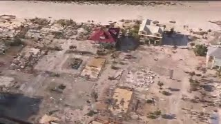 CNN reporter in chopper over Mexico Beach