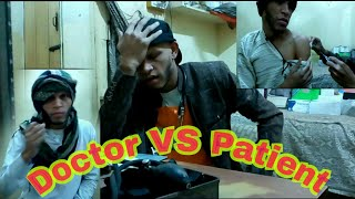 Doctor Vs Patient Very Funny video of Pappu Panther you Can't Control on Lough