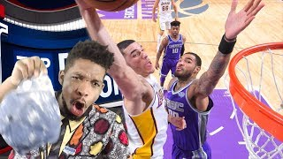 LONZO STEALS THE MONTH! TOP 10 PLAYS & DUNKS OF THE MONTH REACTION!