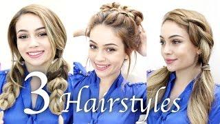 3 Örgülü Saç Modeli