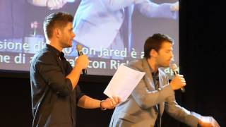 Jibcon 2014 - Jensen Saturday Panel - with Misha (Part 2/2)