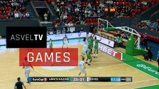 Unics Kazan vs ASVEL Basket : résumé
