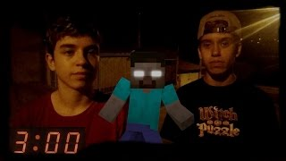 NÃO JOGUE MINECRAFT PE AS 3:00 AM (DA MADRUGADA) #03 Ft Beto Gamer