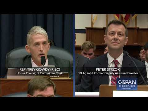 Xxx Mp4 Complete Exchange Between Rep Trey Gowdy And FBI Deputy Assistant Director Peter Strzok 3gp Sex