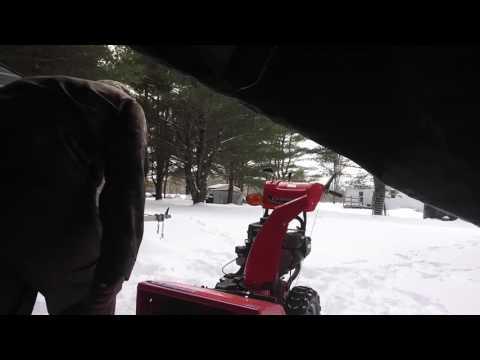 SNOWBLOWER WON'T START UP!