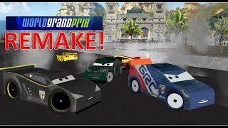 World Grand Prix Crash at Porto Corsa - 3D Remake! Cars 2