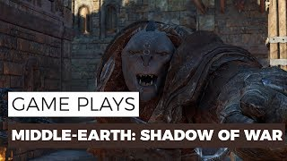 Middle-earth: Shadow of War - WARCHIEF SIDE-MISSION GAMEPLAY - 1080P/60FPS