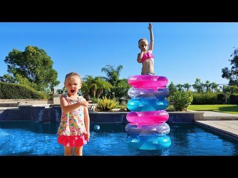 Xxx Mp4 Backyard Swimming Pool Olympics Stacking Pool Floats Challenge 3gp Sex