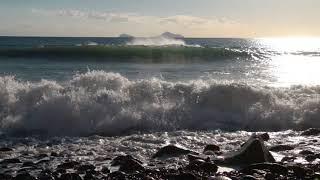 Relaxing Sound of Sea Waves 1 Hour / Calming, Sleep, Study...