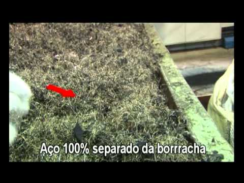 Recicladora de Pneus video completo Português