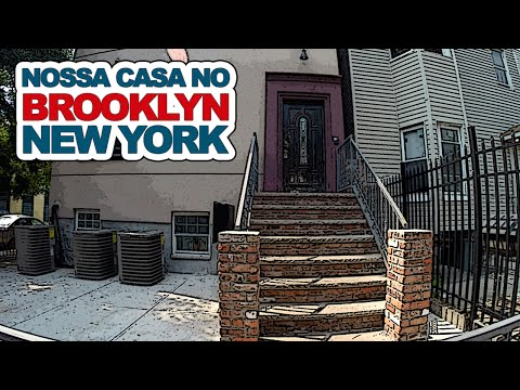 Nossa casa no Brooklyn, New York