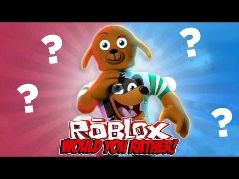 ROBLOX WOULD YOU RATHER FUNNY CHALLENGE Little Baby Max Games and Gaming