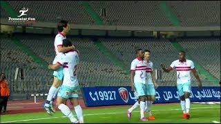 أهداف مباراة الأهلي vs الزمالك | 1 - 2 الجولة الـ 34 الدوري المصري 2017 - 2018
