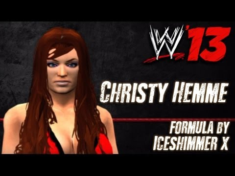 WWE '13 Christy Hemme CAW Formula By Iceshimmer x