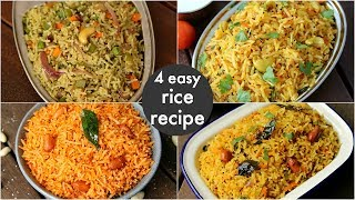 4 easy instant rice recipes - lunch box recipes & ideas   बच्चों की पसंदीदा लंच बॉक्स रेसिपीज