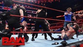 SmackDown LIVE Superstars invade Raw: Raw, Nov. 14, 2016