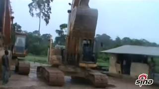 Video provided by Chinese miners in Ghana (Part 4)