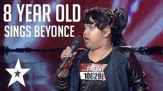 Moving Rendition of Beyoncé's 'Listen' by 8 year old on Indonesia's Got Talent
