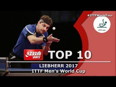 DHS ITTF Top 10 2017 Men s World Cup