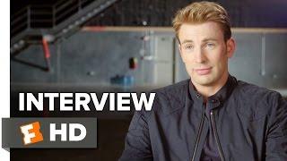 Captain America: Civil War Interview - Chris Evans (2016) - Action Movie HD