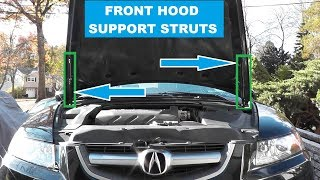 Front Hood Strut or Gas Lift Support Replacement
