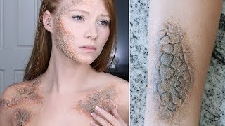 EASY GAME OF THRONES MAKEUP NO PROSTHETICS | Grayscale