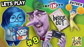 Lets Play DISNEY INFINITY 3.0 INSIDE OUT #8: Pop Tarts Please Chase? Ahead in the Clouds Phase 1 2 3