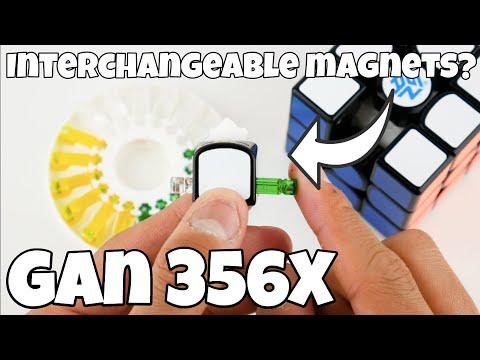 Xxx Mp4 Interchangeable Magnets On A 3x3 GAN 356X Unboxing 3gp Sex