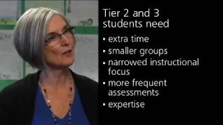 Response to Intervention (RTI): Tier 2 and Tier 3 students