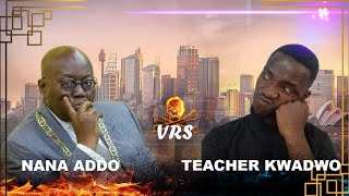 Teacher Kwadwo VS Prez Akufo Addo talks about Ghana.😂😂