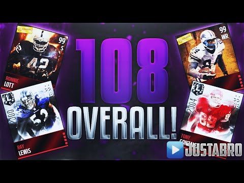 108 OVERALL Greatest Team In Madden Mobile History