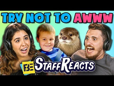 TRY NOT TO AWWW CHALLENGE 2 ft. FBE Staff